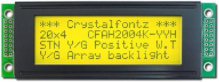 yellow/green lcd